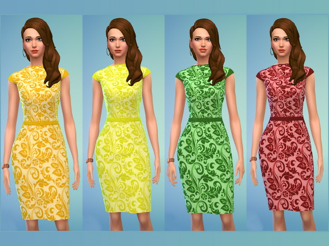 Bea dress by Blackbeauty583 at Beauty Sims image 10420 Sims 4 Updates
