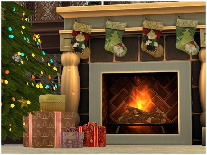 Sims 4 Christmas set by Severinka at TSR