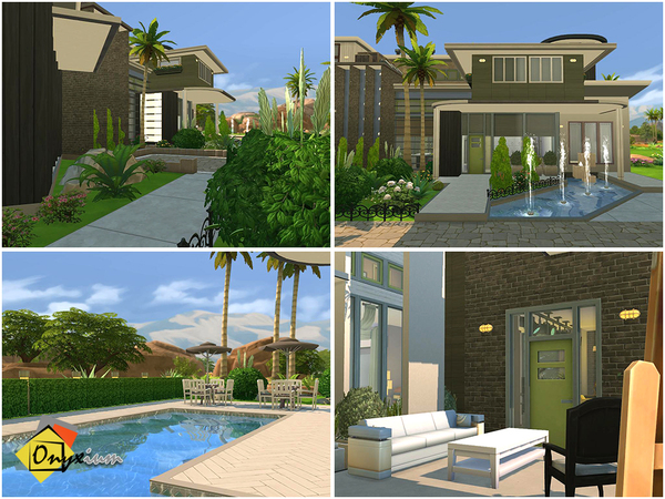 Des Jardins house by Onyxium at TSR image 10821 Sims 4 Updates