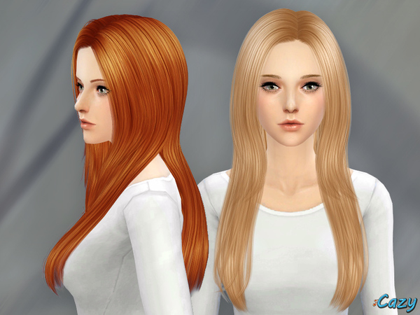 soccer hairstyles for girls : Over The Light Hair conversion by Cazy at TSR