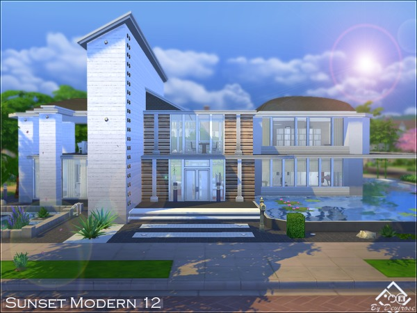 Sunset Modern house 12 by Devirose at TSR image 1113 Sims 4 Updates