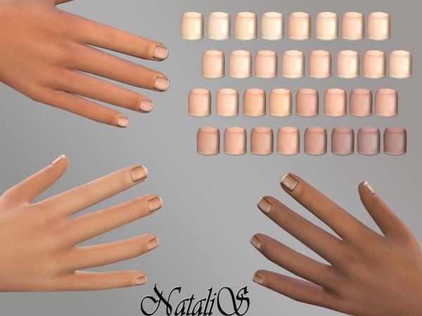Mens Nails Mt Me By Natalis At Tsr Image 1118 Sims 4 Updates