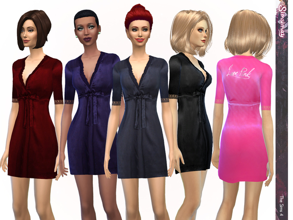 Sims 4 Every Girls Dream Robe by Simsimay at TSR