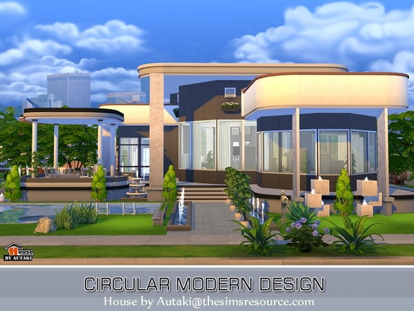 designing small bedroom circular modern design by autaki at tsr 187 sims 4 updates 11420