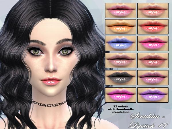 Lipstick 17 by Sintiklia at TSR image 11717 Sims 4 Updates