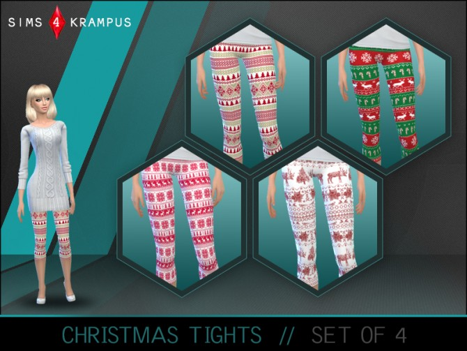 Christmas tights at Sims 4 Krampus image 1172 Sims 4 Updates