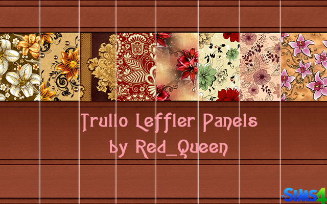 Sims 4 Trullo Leffler Panel by Red Queen at ihelensims