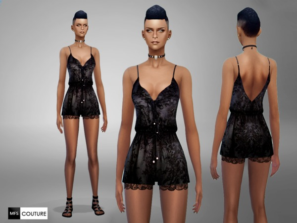 MFS Lace Romper by MissFortune at TSR image 11917 Sims 4 Updates