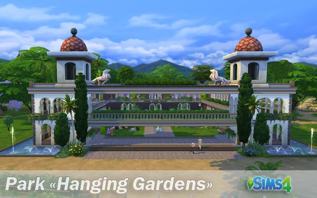 Hanging Gardens park by Natali Nik at ihelensims image 1198 Sims 4 Updates