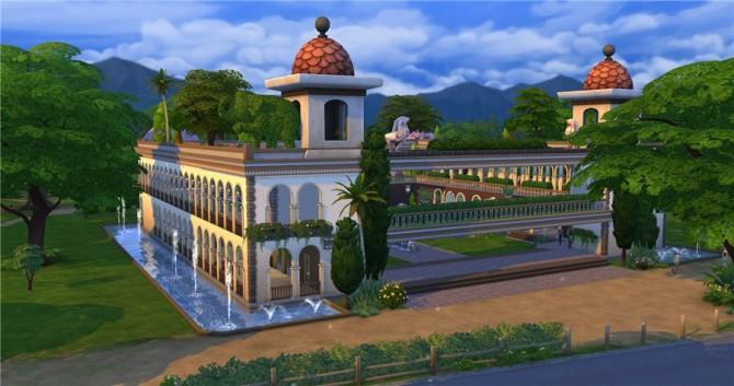 Hanging Gardens park by Natali Nik at ihelensims image 12010 Sims 4 Updates