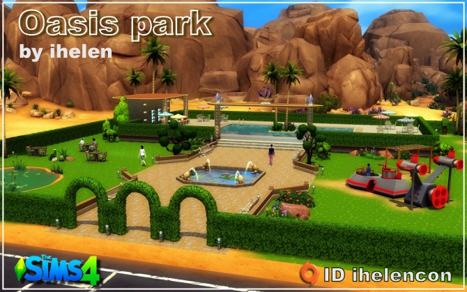 Oasis park at ihelensims image 1208 Sims 4 Updates