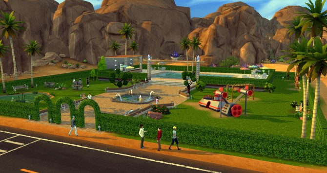 Oasis park at ihelensims image 12110 Sims 4 Updates