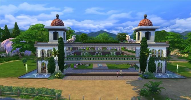 Hanging Gardens park by Natali Nik at ihelensims image 12112 Sims 4 Updates