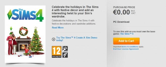 HOLIDAY CELEBRATION PACK at Origin image 12115 Sims 4 Updates