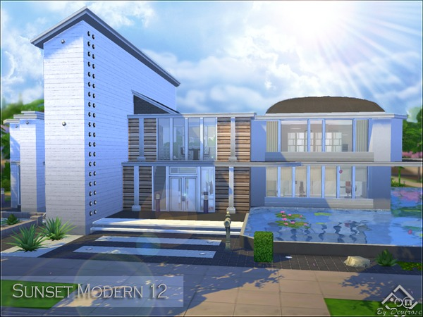 Sunset Modern house 12 by Devirose at TSR image 1212 Sims 4 Updates