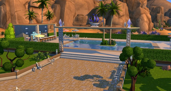 Oasis park at ihelensims image 1225 Sims 4 Updates