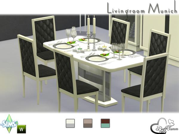 Sims 4 Diningroom Munich by BuffSumm at TSR