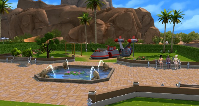 Oasis park at ihelensims image 1236 Sims 4 Updates