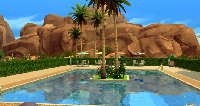 Oasis park at ihelensims image 1246 Sims 4 Updates