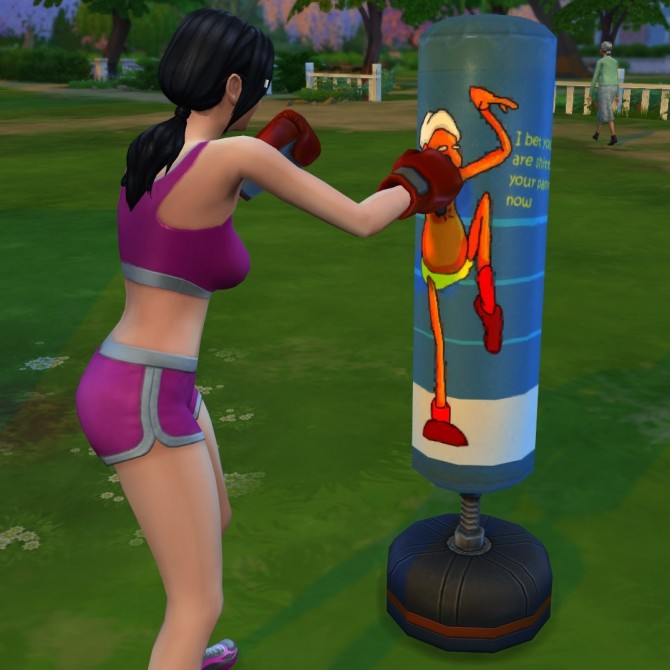 Sims 4 Redesigned punching bag by hydramordor at Mod The Sims