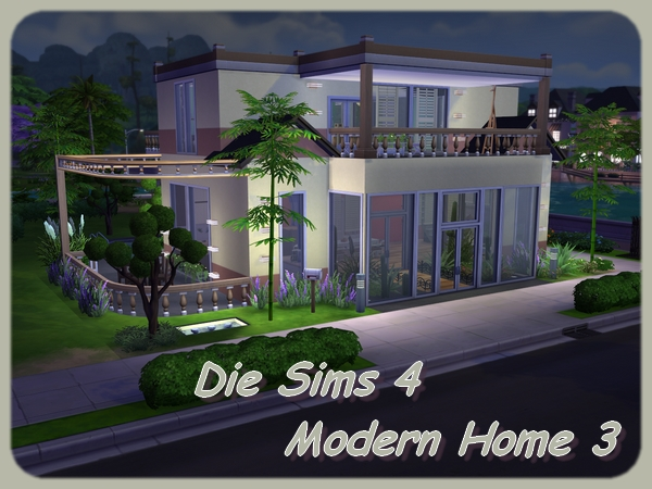 Modern Home 3 by Maxi Sims at Akisima image 1274 Sims 4 Updates