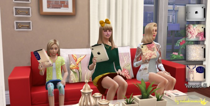 Sims 4 Overrides! Christmas gifts... tablets! at In a bad Romance