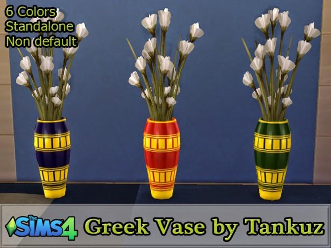 Sims 4 Greek Vase at Tankuz Sims4