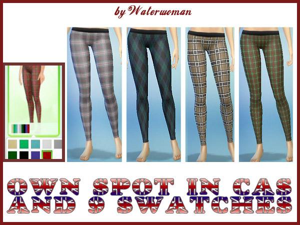 Brit Look Leggins by Waterwoman at Akisima image 1406 Sims 4 Updates