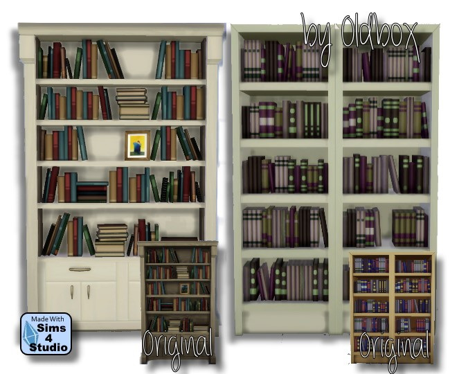 Bookshelf Sims 4 Updates Best TS4 CC Downloads Page Of