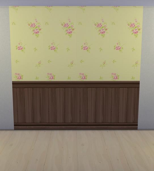 Sims 4 Wall paneling Set 1 at 19 Sims 4 Blog