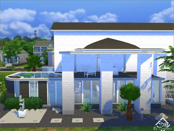 Sunset Modern house 12 by Devirose at TSR image 1412 Sims 4 Updates