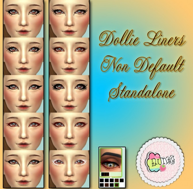 Dollie Liners at Eluney Design image 1419 Sims 4 Updates