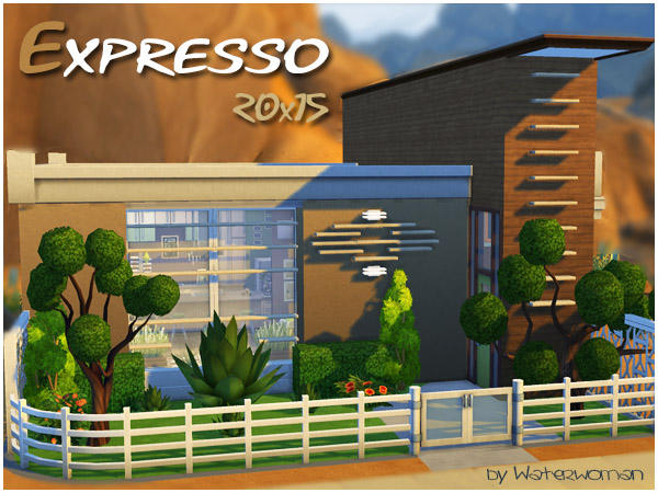 Expresso house by Waterwoman at Akisima image 14311 Sims 4 Updates