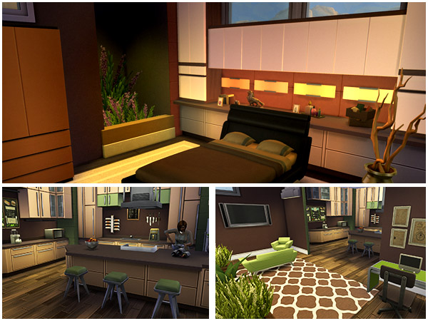 Expresso house by Waterwoman at Akisima image 14411 Sims 4 Updates