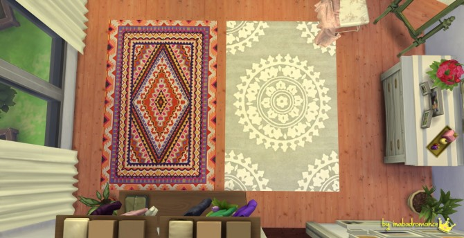 Rugs and wall art at In a bad Romance image 1446 Sims 4 Updates
