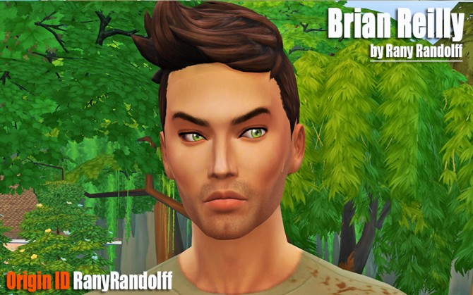 Sims 4 Brian Reilly by Rany Randolff at ihelensims