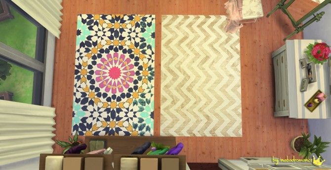 Rugs and wall art at In a bad Romance image 1456 Sims 4 Updates