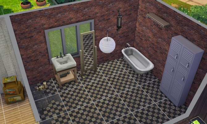 Sims 4 7 Brick Walls by Blackgryffin at Mod The Sims