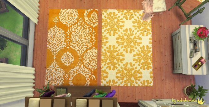 Rugs and wall art at In a bad Romance image 1474 Sims 4 Updates