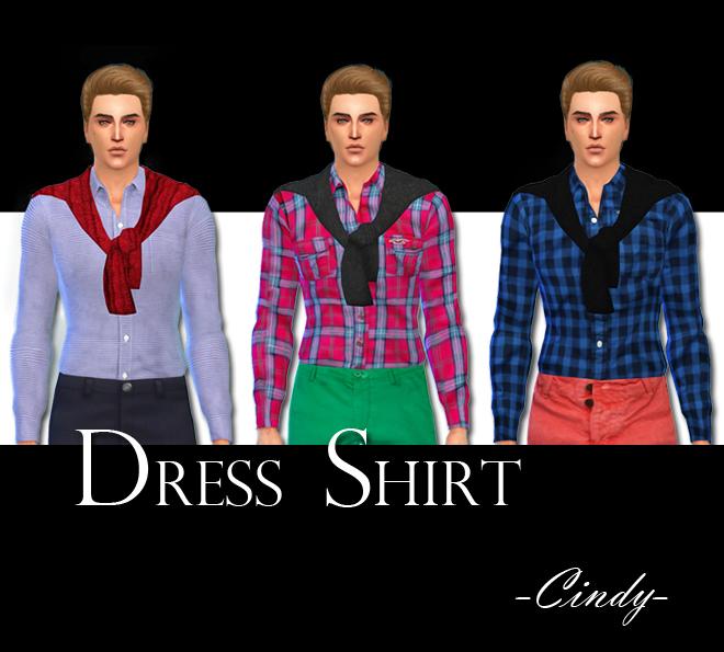 3 dress shirt at CCTS4 image 150 Sims 4 Updates