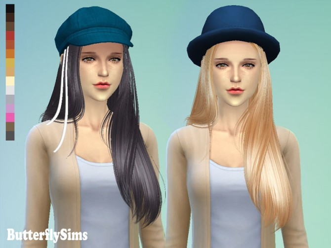 Sims 4 Hair 099 by YOYO (Pay) at Butterfly Sims