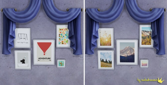 Rugs and wall art at In a bad Romance image 1504 Sims 4 Updates