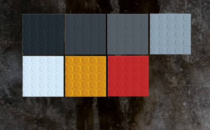 Sims 4 Durable Rubber Floor Tiles by Wallpaper at Mod The Sims