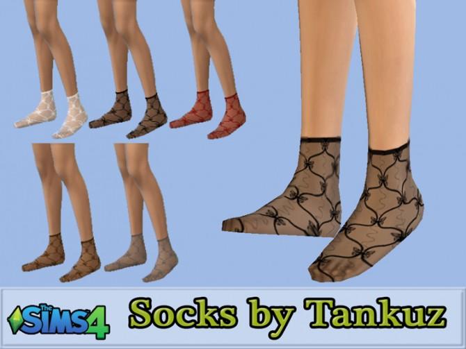 Sims 4 Socks by Tankuz at Sims 3 Game