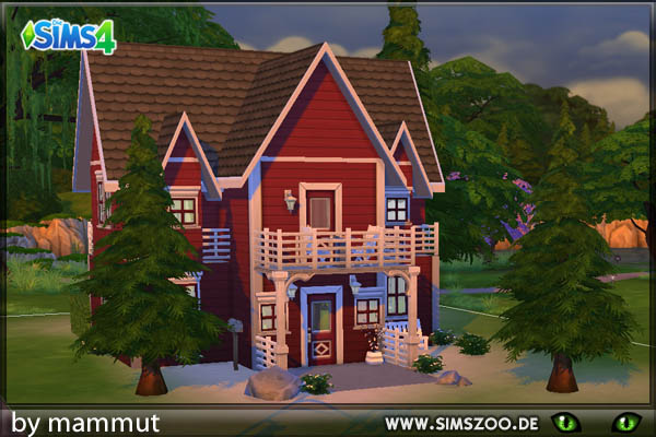 Nordic 1 house by mammut at Blacky's Sims Zoo image 15210 Sims 4 Updates