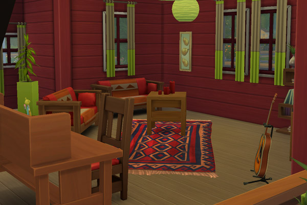 Nordic 1 house by mammut at Blacky's Sims Zoo image 1545 Sims 4 Updates