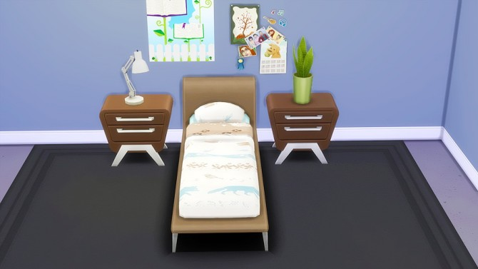 Sims 4 Single Bed Recolors