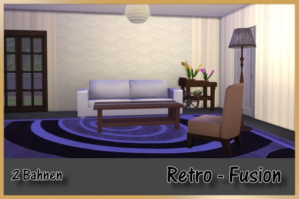 Sims 4 Retro Elegance wallpapers by Schnattchen at Blacky's Sims Zoo