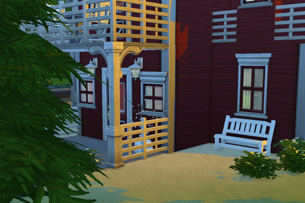 Nordic 1 house by mammut at Blacky's Sims Zoo image 1555 Sims 4 Updates