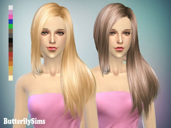 Hair 141 by YOYO (Pay) at Butterfly Sims image 1565 Sims 4 Updates